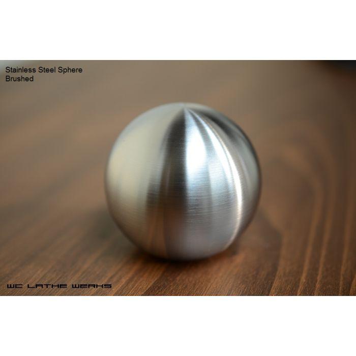 NEW Hand made WC Lathe Werks Corvette C6 Stainless Steel Sphere shift knob